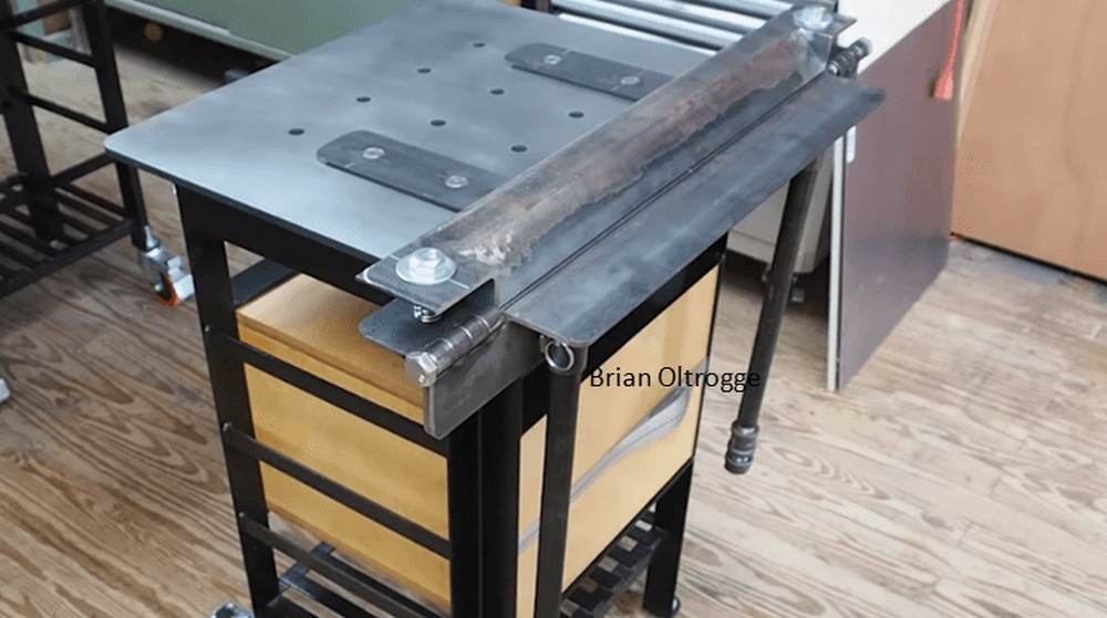 Build A Metal Brake For Bending Sheet Metal Easily And Quickly