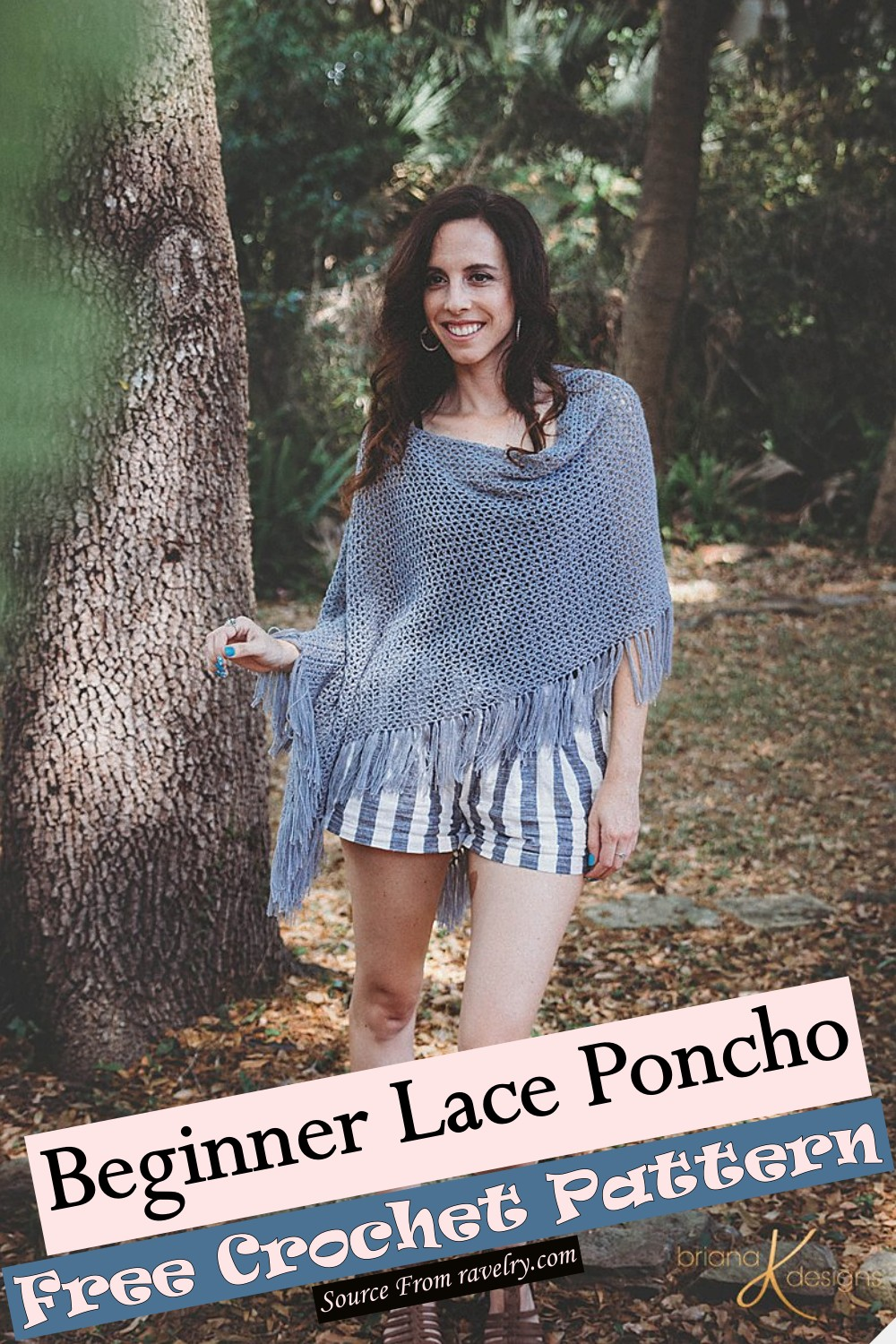 Beginner Lace Poncho