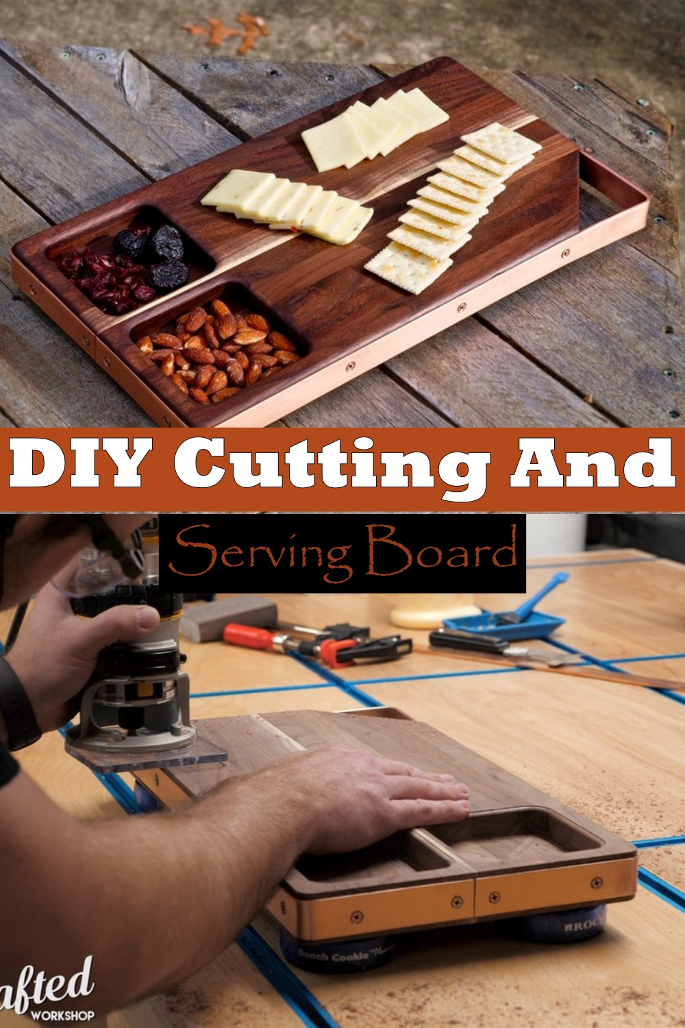 DIY Cutting And Serving Board