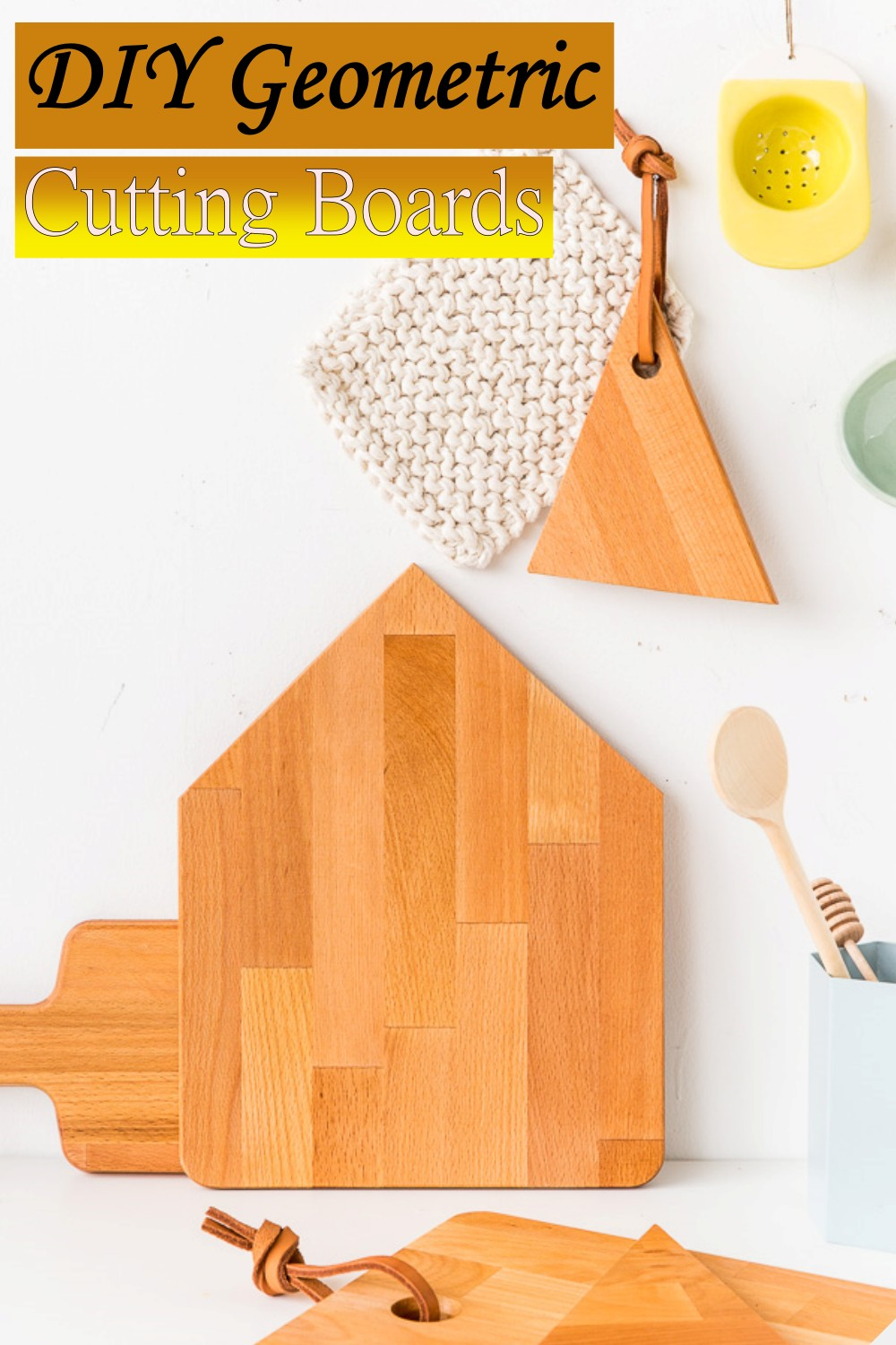 Geometric Boards For choping