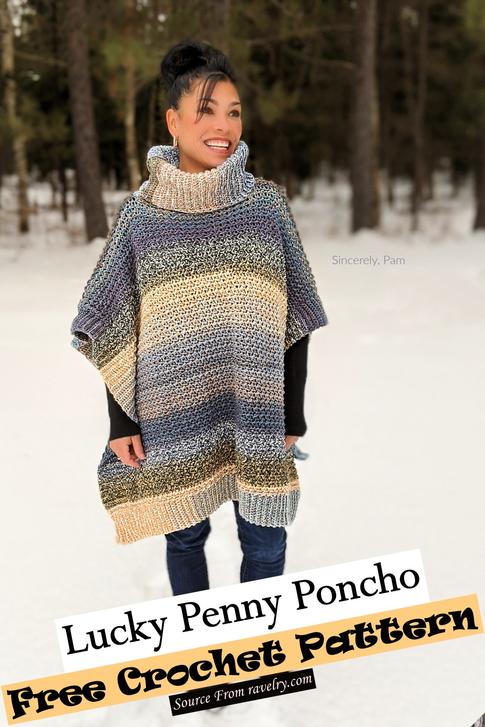 Lucky Penny Poncho