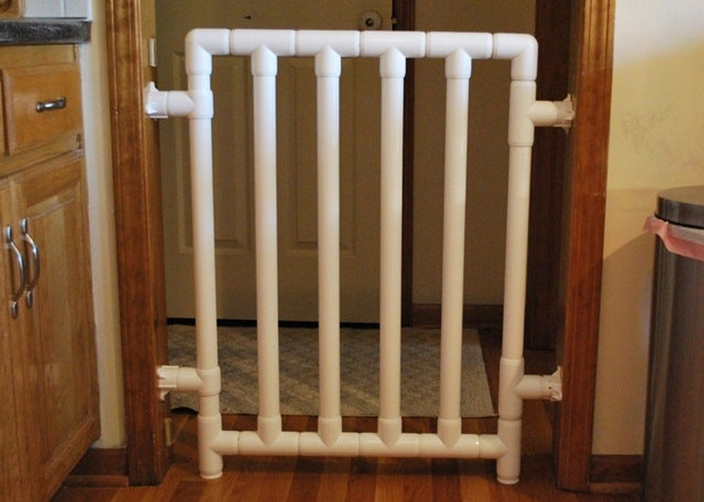 Baby Gate Out Of Pvc Pipes