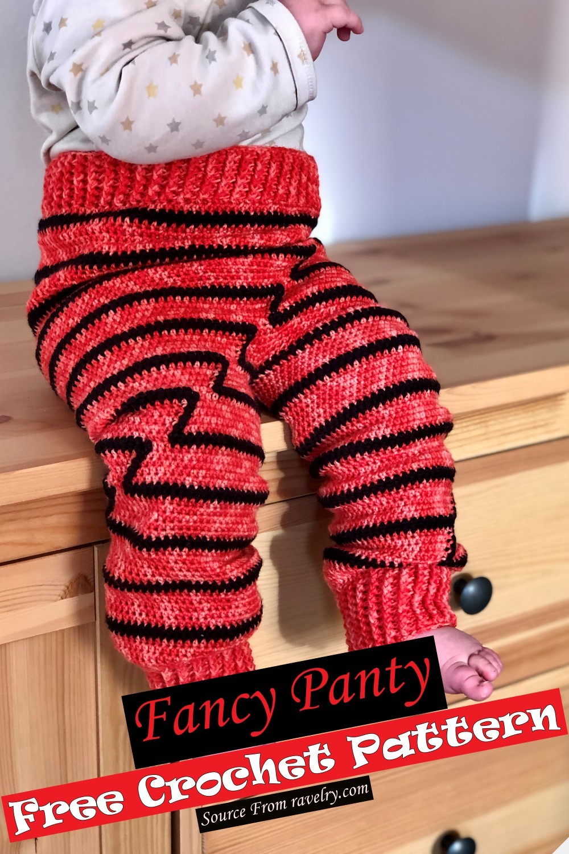 Crochet Fancy Panty Pattern