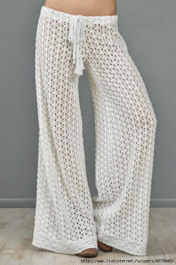 Longer sized pant pattern for summer