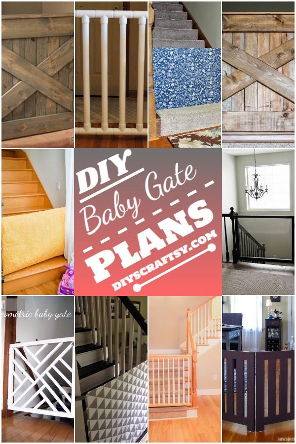 DIY Baby Gate Plans