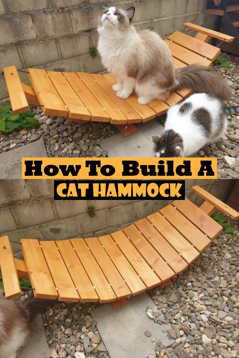 How To Build A Cat Hammock