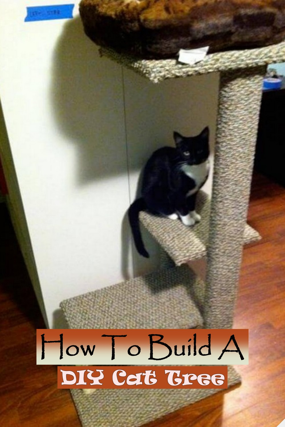 How To Build A DIY Cat Tree