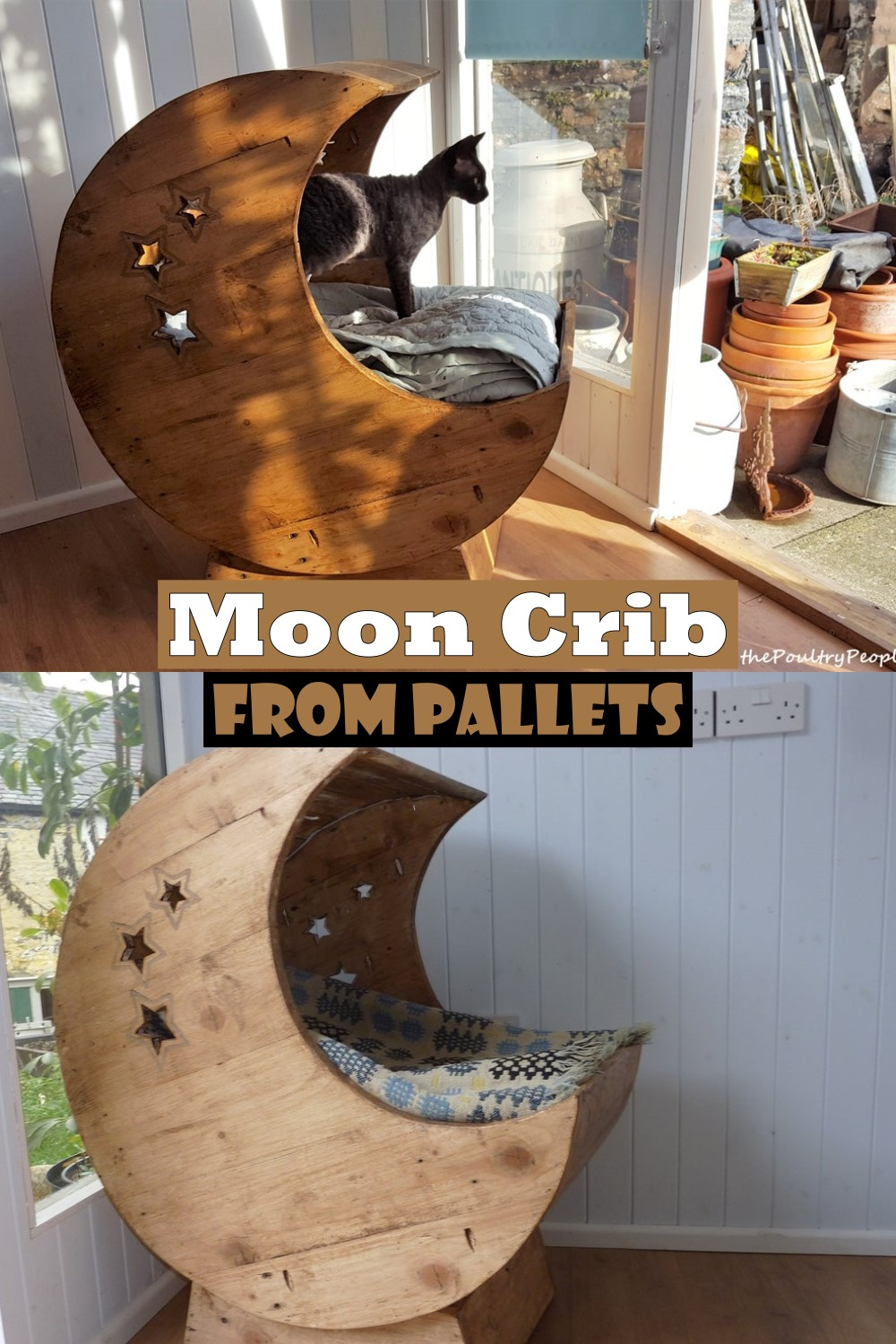 Moon Crib From Pallets