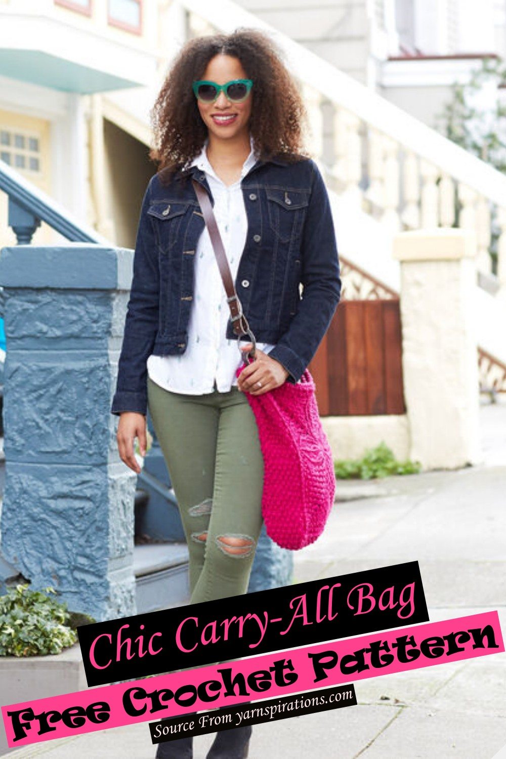 Chic Carry-All Bag Crochet Pattern