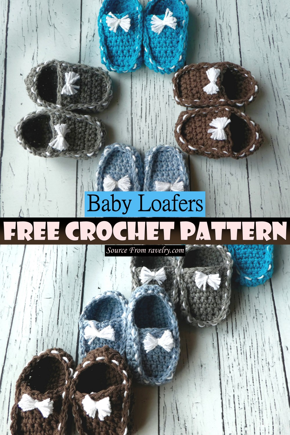 Baby Loafer Pattern