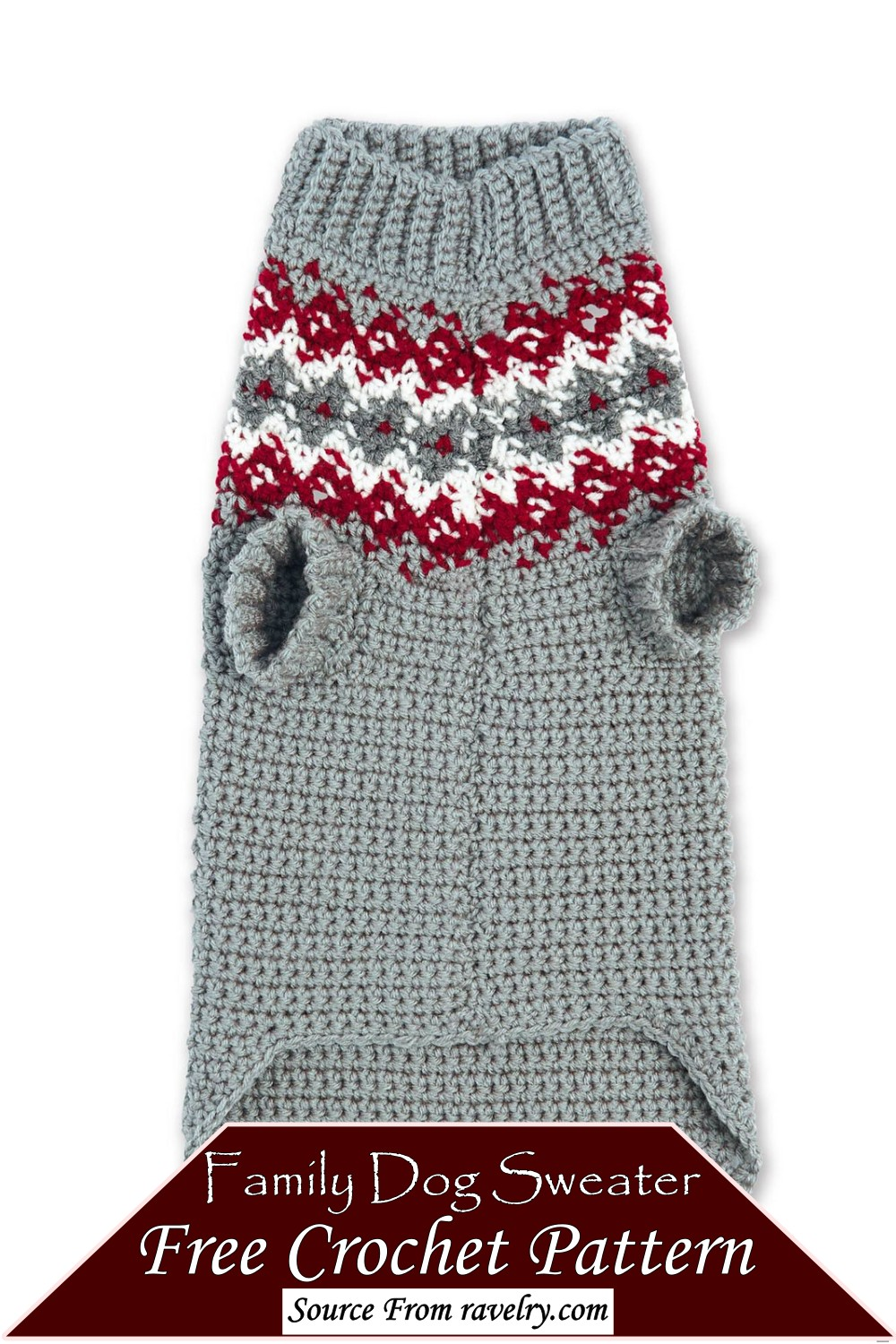 Family Sweater Pattern for your pup