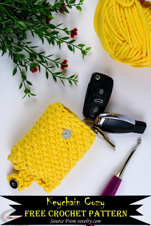 Crochet Keychain Cozy Pattern