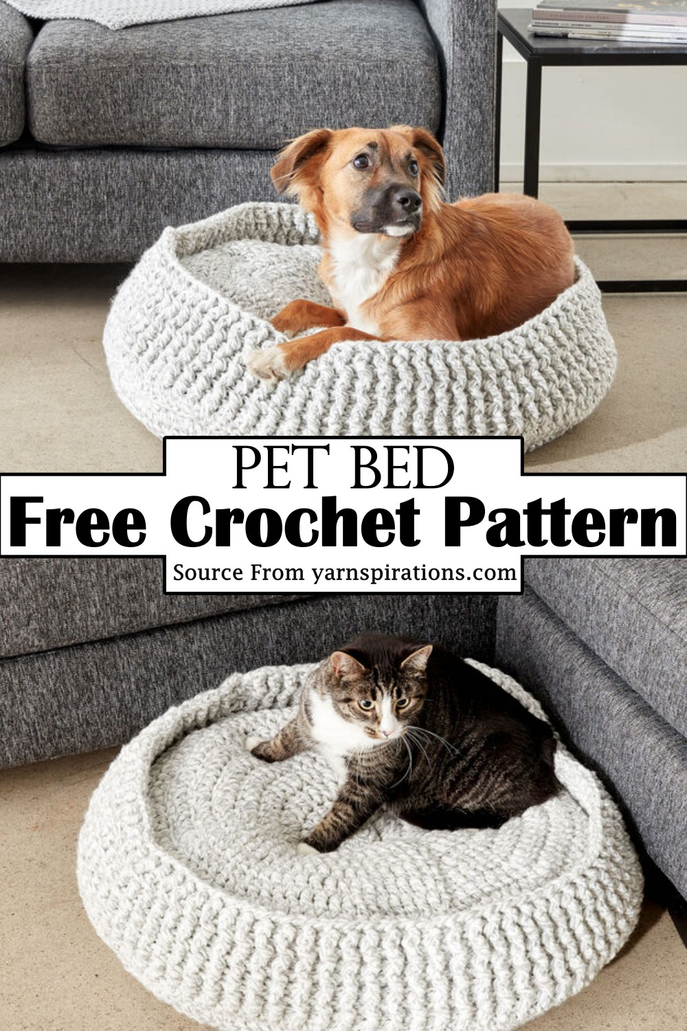 Free Bed Pattern for your dog and kitten