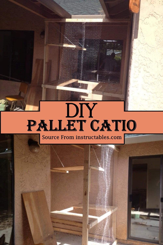 DIY Pallet Catio