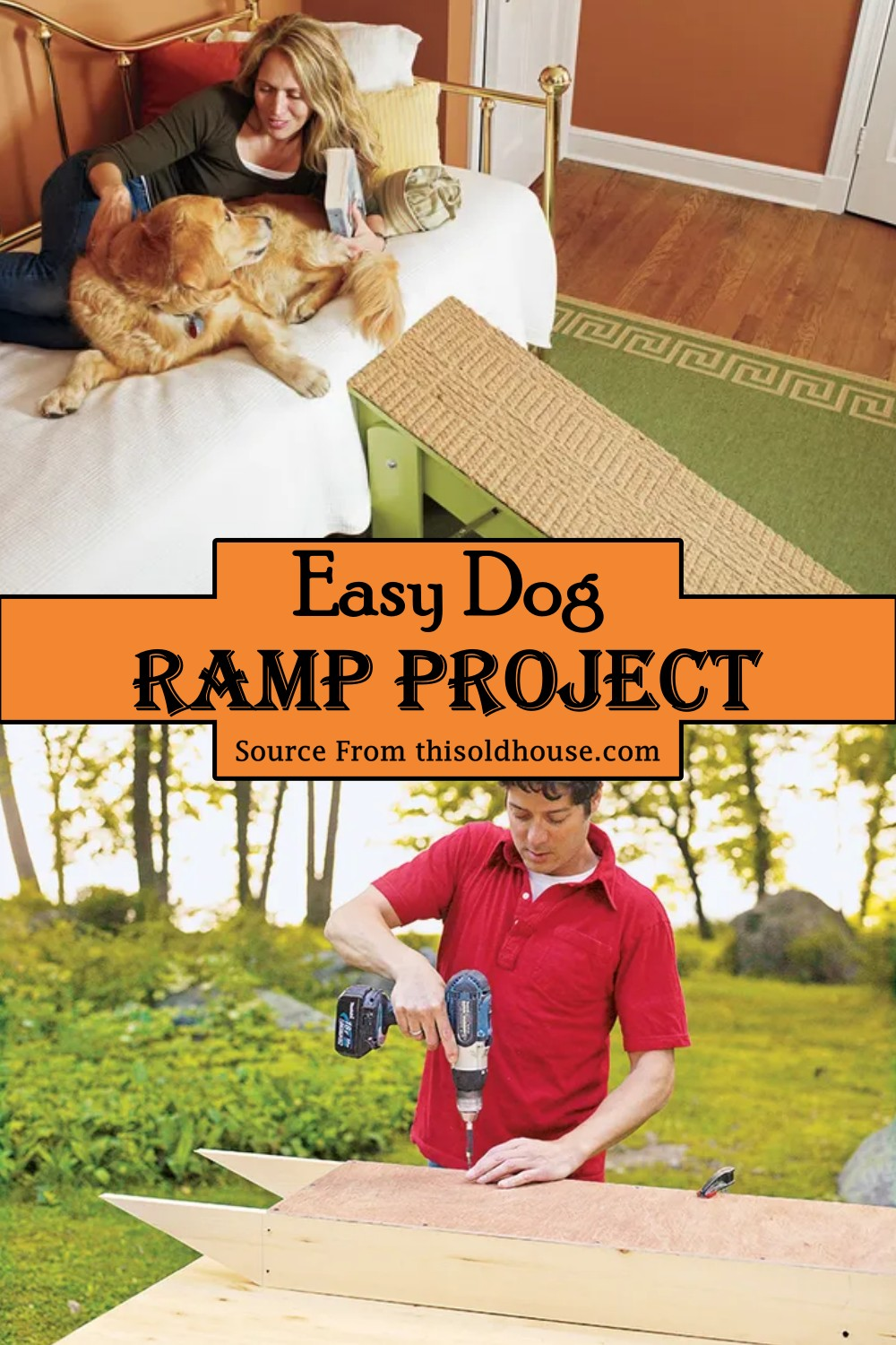 Easy Dog Ramp Project