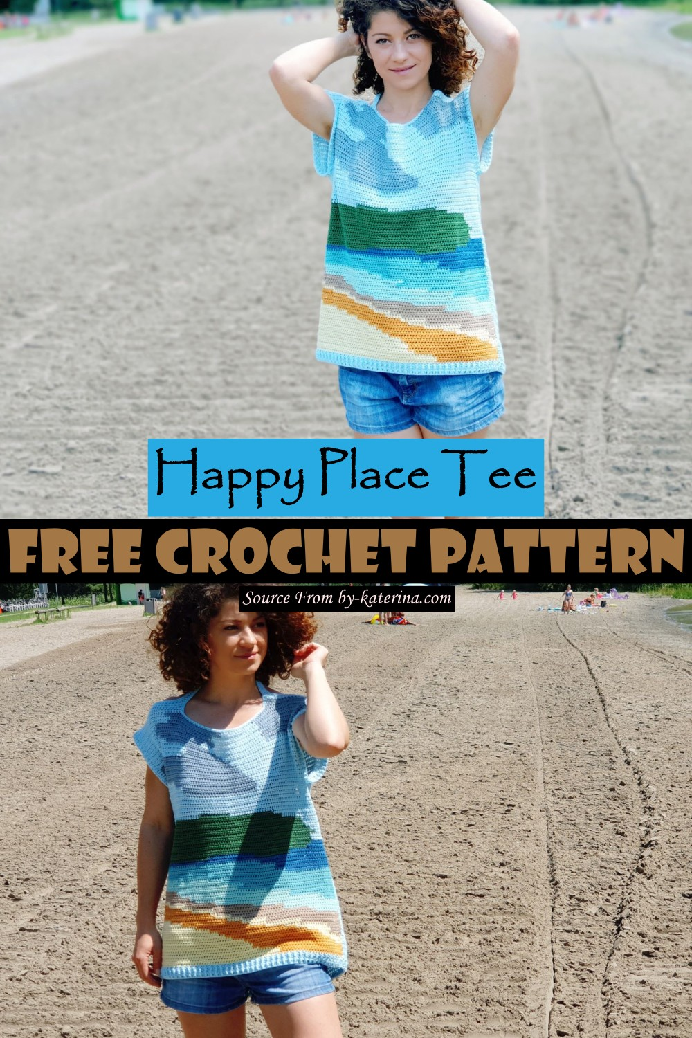 Happy Place Tee Pattern