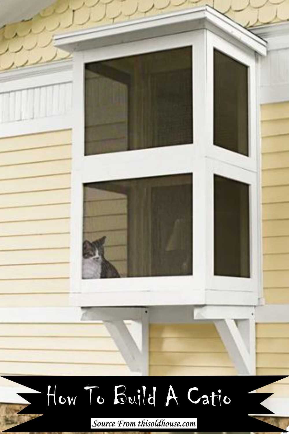 How To Build A cat's playhouse
