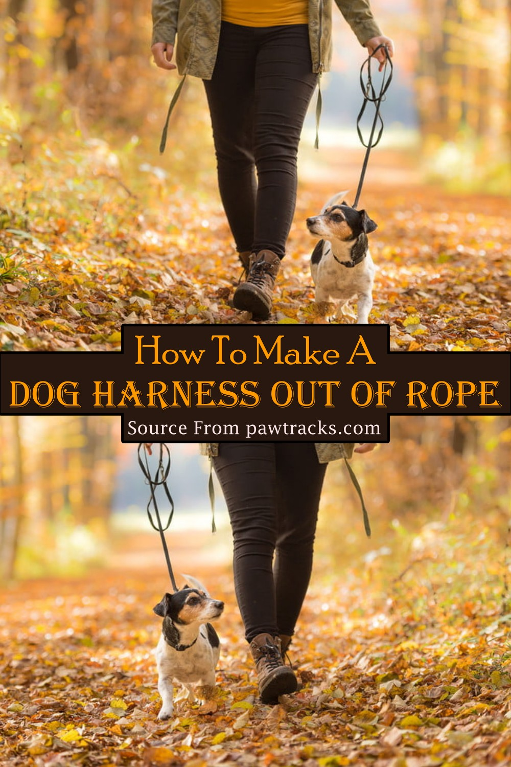 How To Make A Dog Harness Out Of Rope