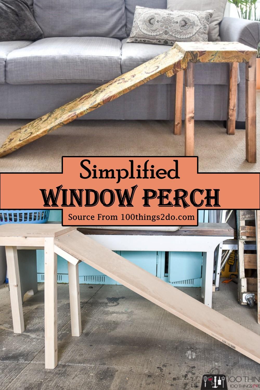 Simplified Window Perch