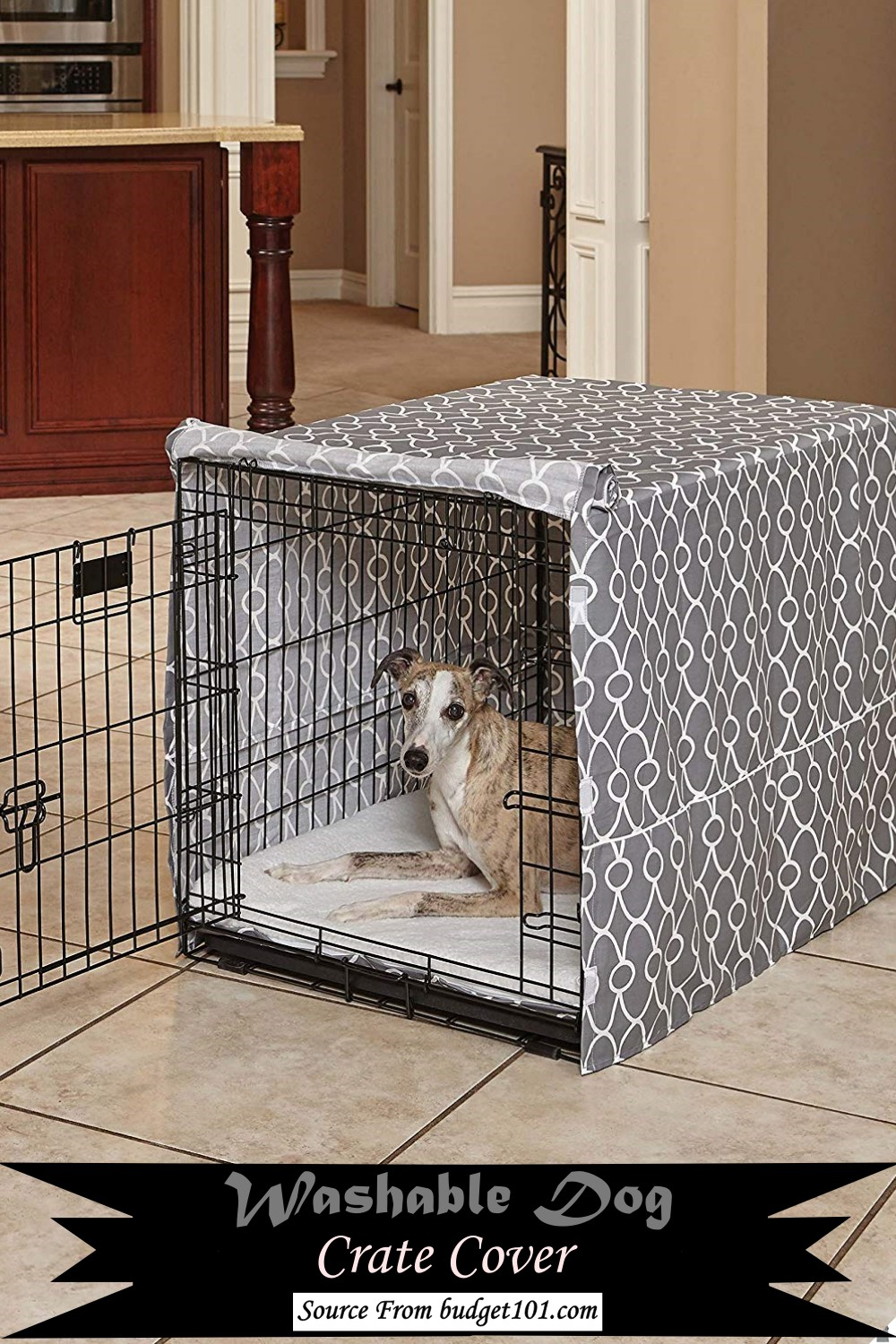 Washable Dog Crate Cover