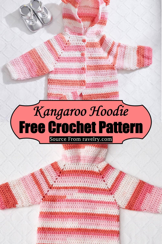 Crochet Baby Bear Hoodie Pattern