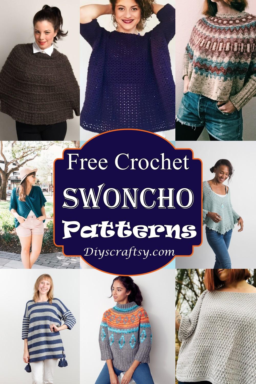 Crochet Swoncho Patterns