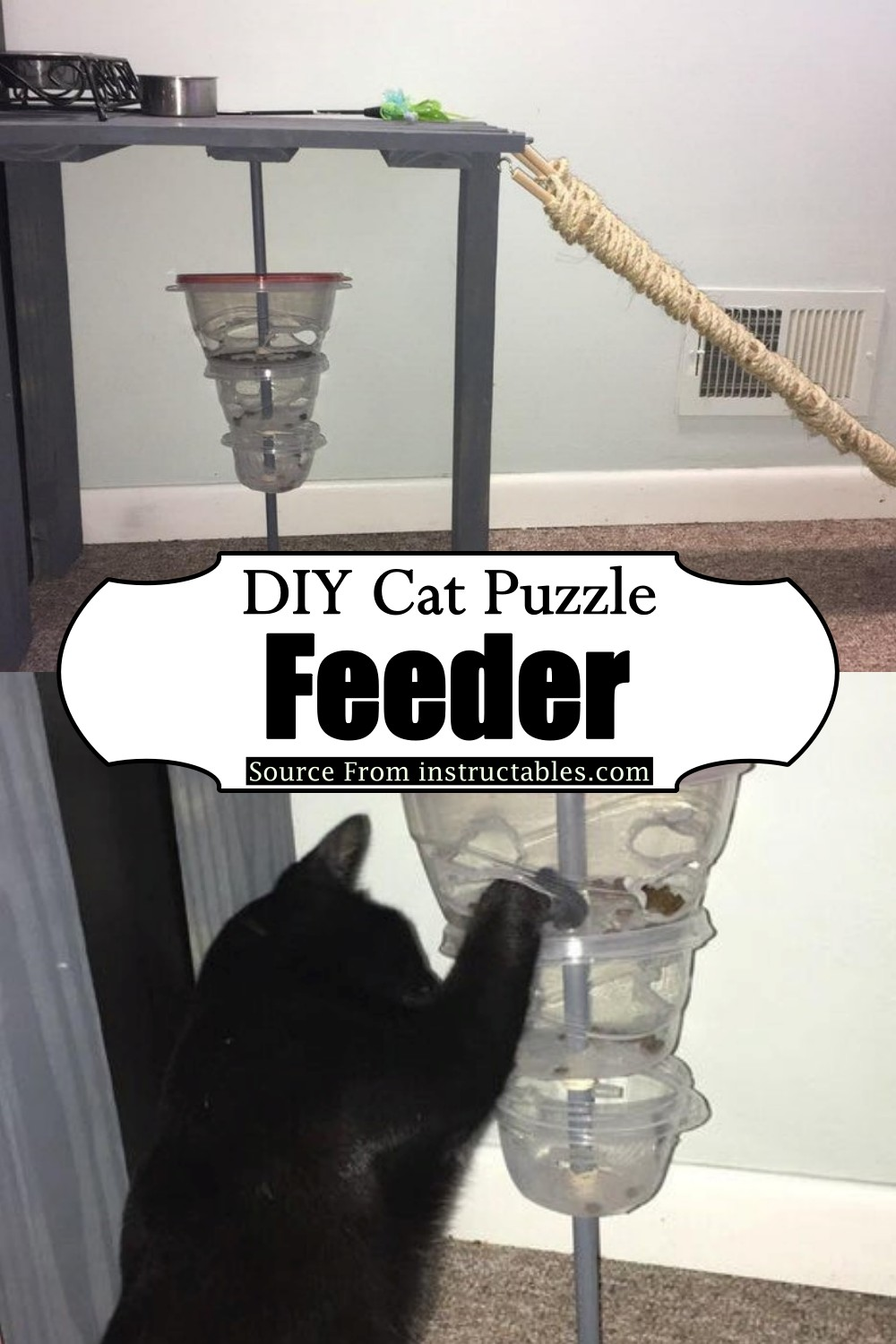 Making A Puzzle Feeder