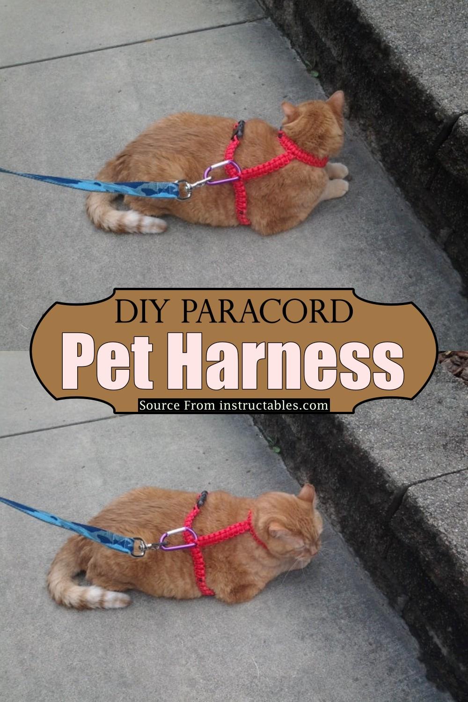 DIY Paracord Pet Harness