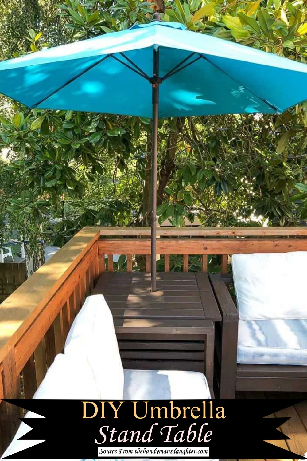 Decent Sunshade Stand Table for your Balcony