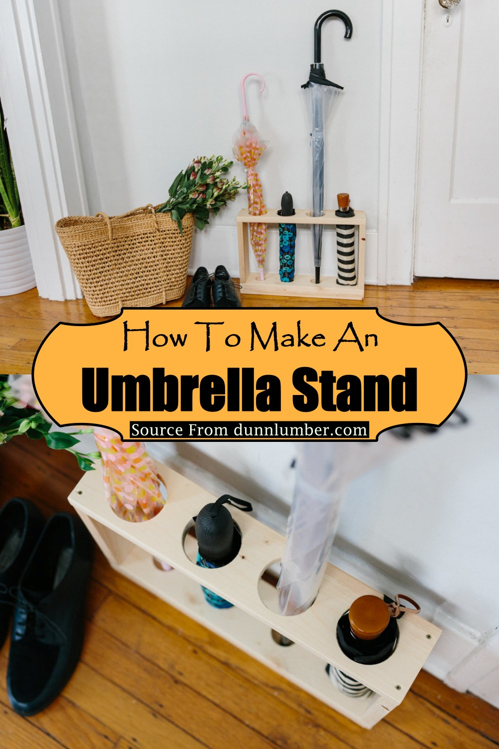 How To Make An Umbrella Stand