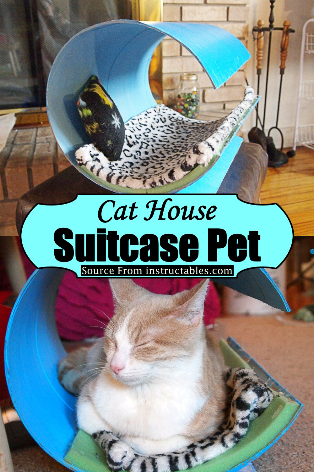 Rounded Top Cat House