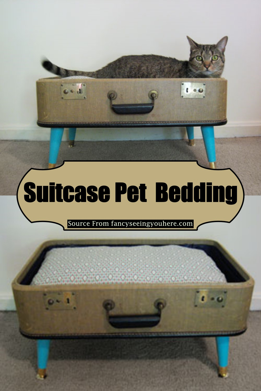 Suitcase Pet Bedding