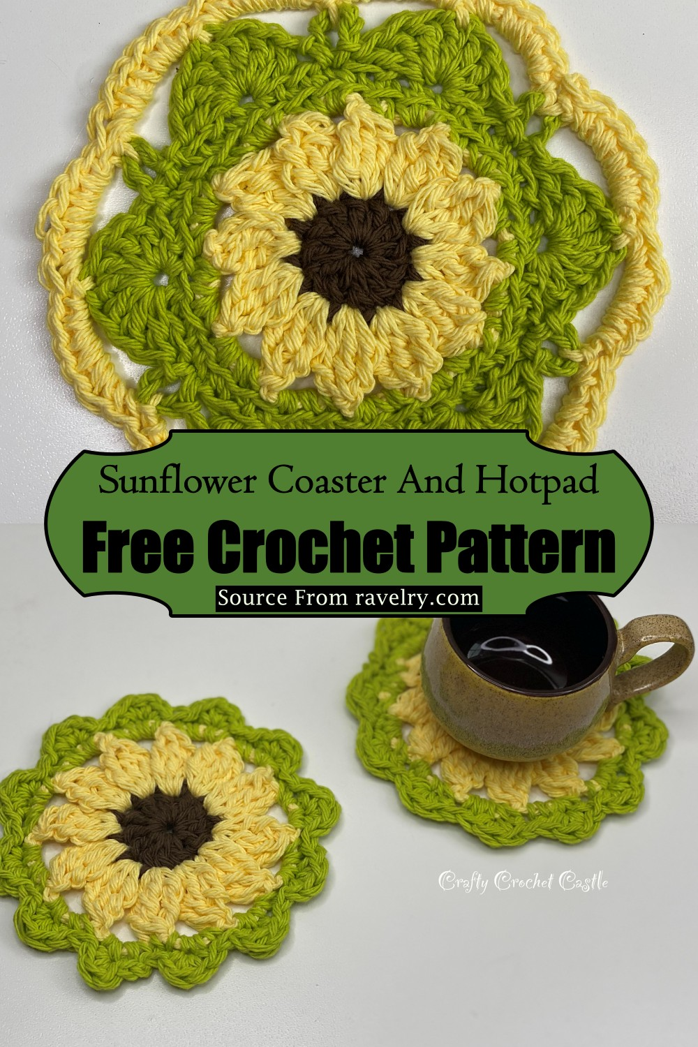 Coaster And Hotpad Pattern